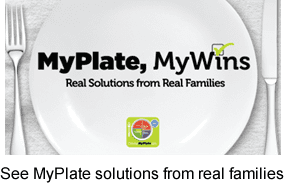 MyPlateMyWins logo and plate