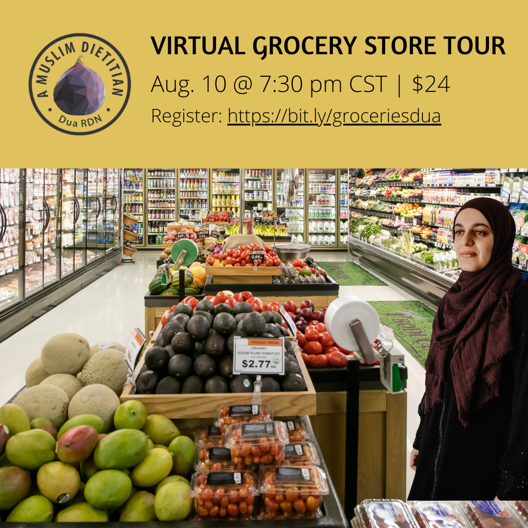 grocery store tour with dietitian